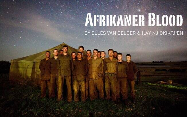 O 'Afrikaner Blood' (Sangue Africâner, em português), de Elles van Gelder e Ilvy Njiokiktjien, ganhou o 1º prêmio do concurso World Press Photo na categoria multimídia
