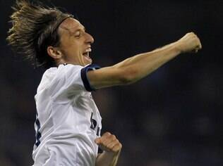 Modric comemora gol do Real Madrid