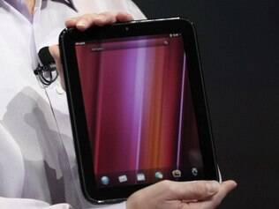 Tablet da HP, o Touchpad