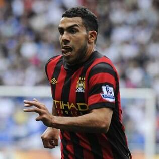 Carlitos Tevez, atacante do Manchester City