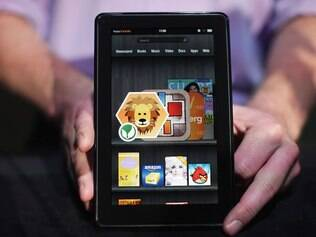 Kindle Fire, o primeiro tablet da Amazon