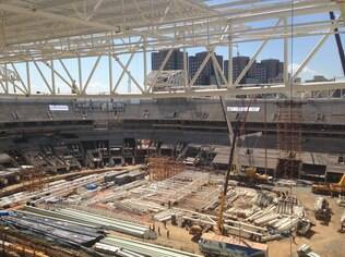 Obras no Allianz Parque