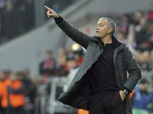 José Mourinho, técnico do Real Madrid