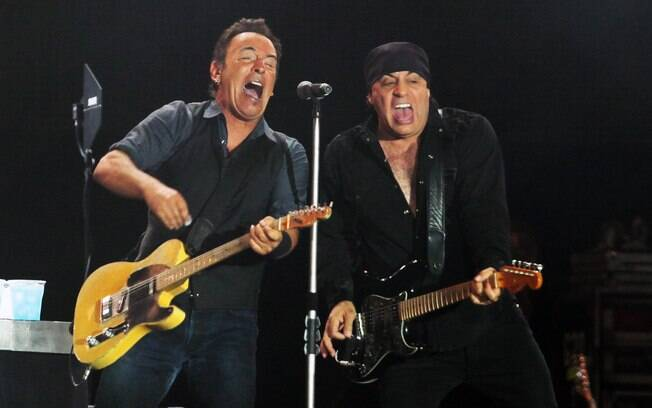 Bruce Springsteen e Steven Van Zandt tocam no último dia do Rock in Rio Lisboa