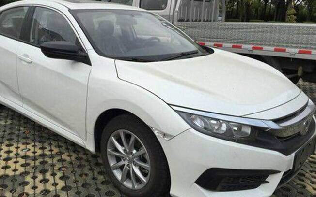 Honda Civic 1.0 Turbo é visto sem disfarces na China