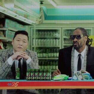 Psy no clipe de 'Hangover' com Snoop Dogg