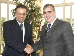 Aécio Neves e Narcio Rodrigues