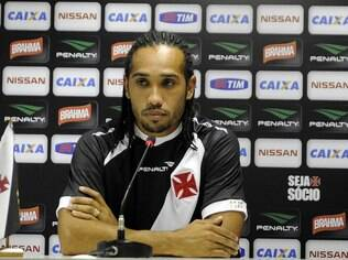 Everton Costa, atacante do Vasco
