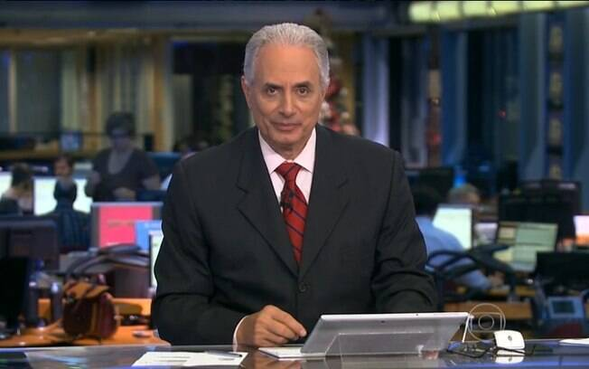 William Waack foi afastado do