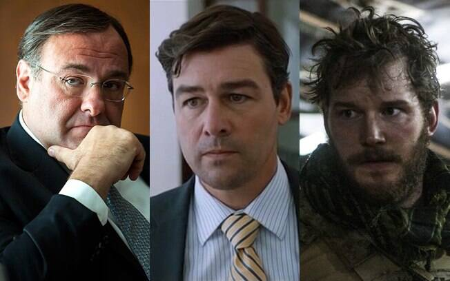 James Gandolfini, Kyle Chandler e Chris Pratt em