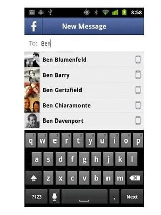 Facebook Messenger para Android
