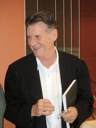 Michael Palin, do Monty Phyton, em foto de 2005