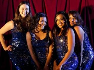 O quarto The Sapphires: shows no Vietnã