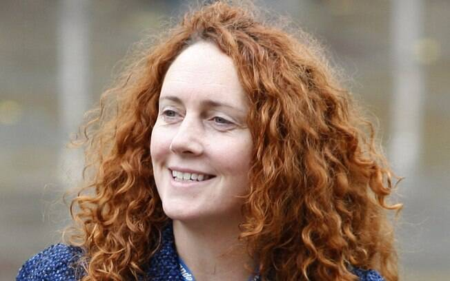Rebekah Brooks, chefe executiva da News International, de Murdoch (06/10/2009)