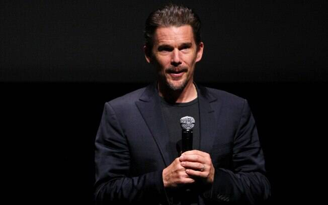 Ethan Hawke mostra o documentário 'Seymour: An Introduction' no Festival de Toronto (10/09/2014)