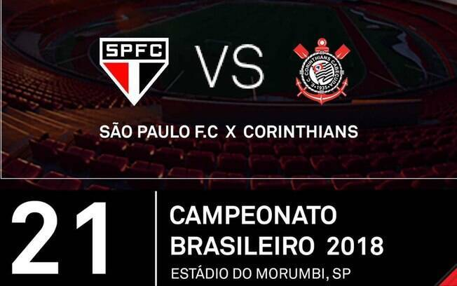 Site erra o escudo do Corinthians para venda de ingressos