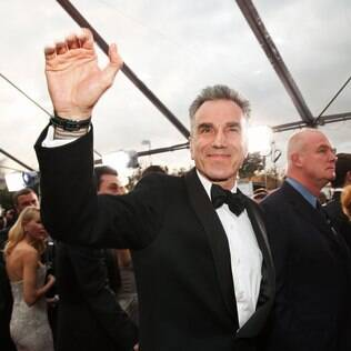 Daniel Day-Lewis na chegada ao Screen Actors Guild Awards, Los Angeles, 2013