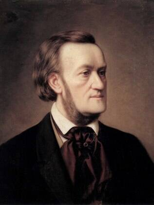 O compositor Richard Wagner