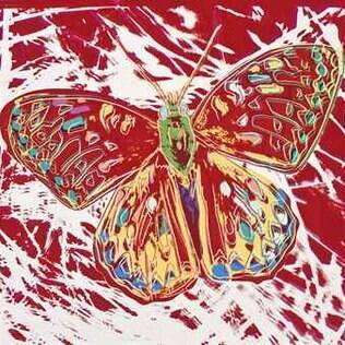 A obra 'Endangered Species: San Francisco Silverspot', de Andy Warhol