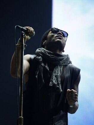 Lenny Kravitz canta no Rock in Rio