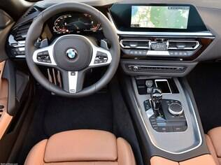 interior do BMW Z4