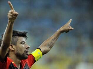 Léo Moura, lateral do Flamengo