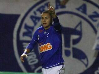 Wellington Paulista, atacante do Cruzeiro
