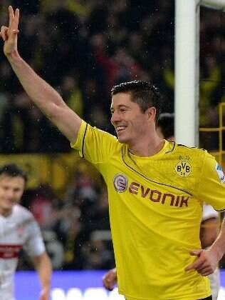 Lewandowski, atacante do Dortmund