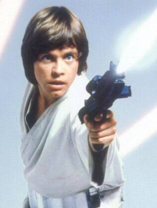 Luke Skywalker (Mark Hamill), herói de 'Star Wars'