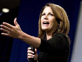 Michelle Bachmann participa de evento na Carolina do Sul (25/08)