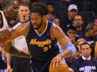 Nenê Hilário, pivô do Denver Nuggets