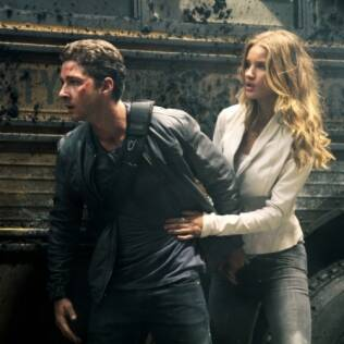 "Shia LaBeouf e Rosie Huntington-Whiteley, a nova musa da série ""Transformers"""