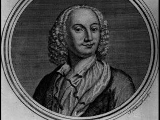 O compositor italiano Vivaldi