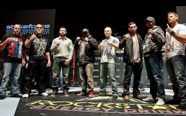 Lutadores do GP do Strikeforce