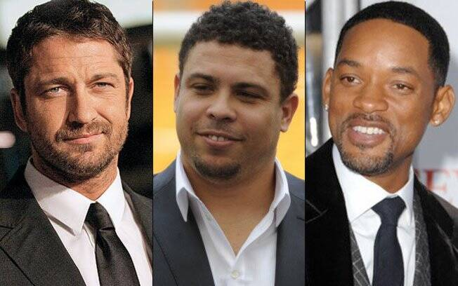 Gerard Butler, Ronaldo e Will Smith