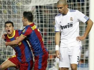 No 1º turno, o Barcelona passeou para cima do Real Madrid: 5 a 0 no Camp Nou