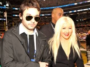 Christina Aguilera e o namorado, Matthew Ruther