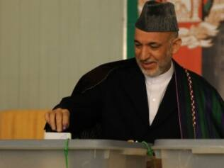 Presidente do Afeganistão, Hamid Karzai