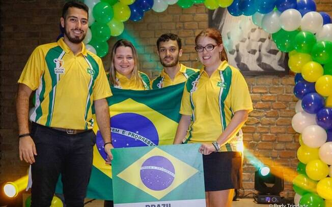 Bruno Costa, Roberta Rodrigues, Marcelo Suartz e Stephanie Martins