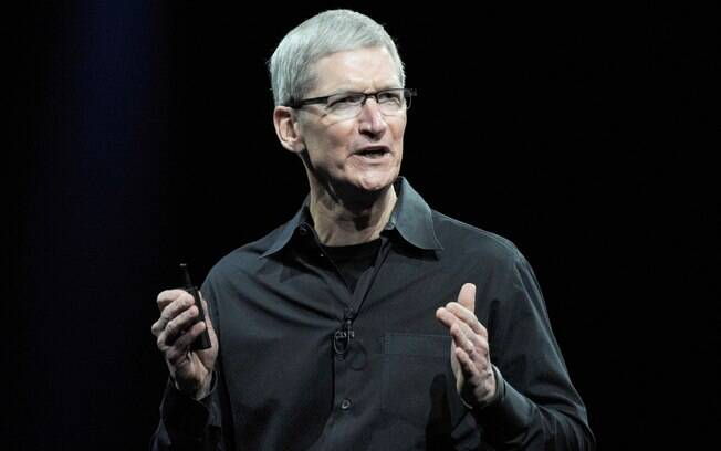 Tim Cook em evento em San Francisco