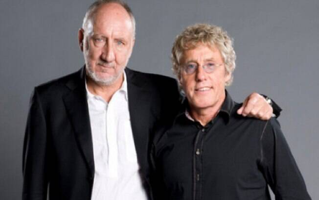Roger Daltrey e Pete Townshend, da The Who