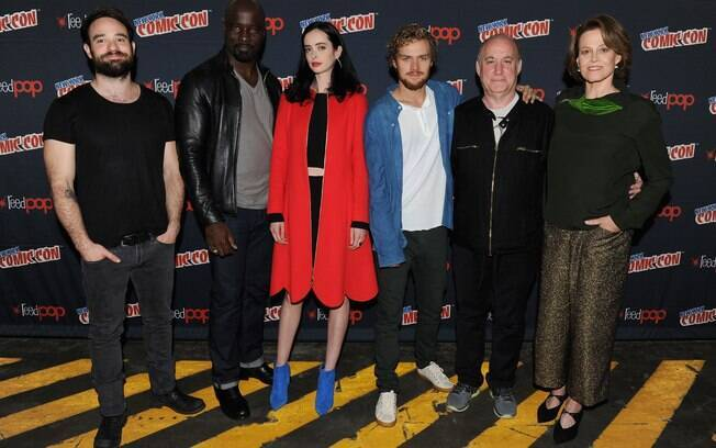 Charlie Cox, Mike Colter, Krysten Ritter e Finn Jones são Os Defensores, da Marvel