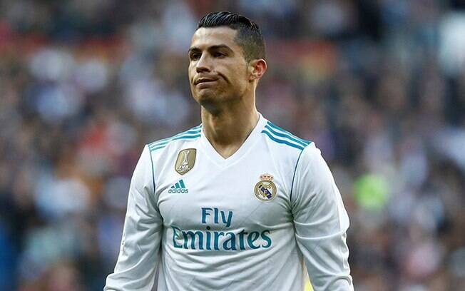 Cristiano Ronaldo, astro do Real Madrid