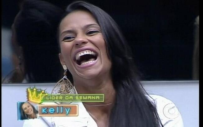 Bial consagra Kelly a nova Líder do reality