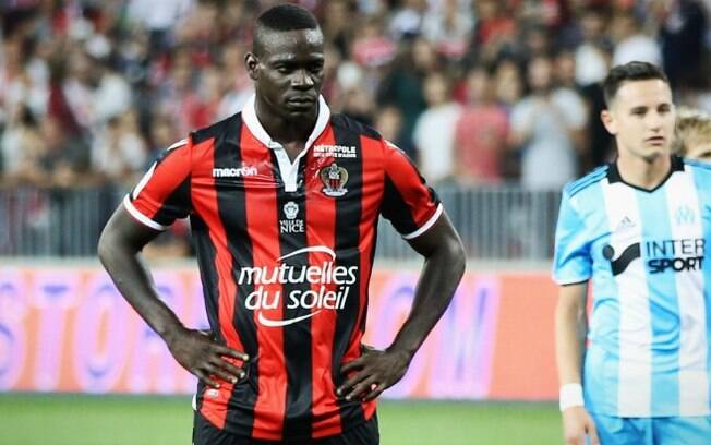 Atacante Mario Balotelli atualmente defende as cores do Nice, da França