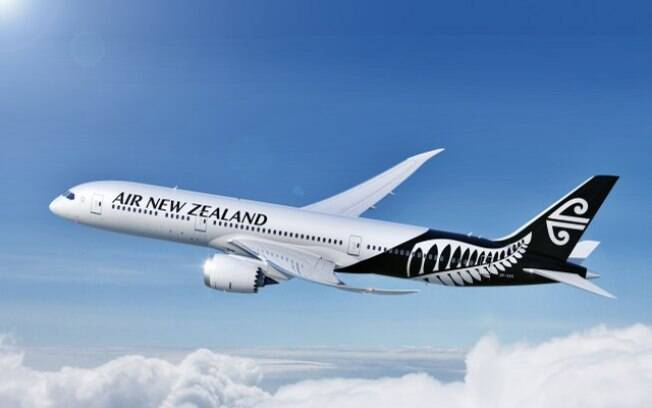 Avião da Air New Zealand