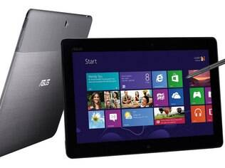 Asus Tab é o único tablet com Windows RT com data marcada para estrear no Brasil