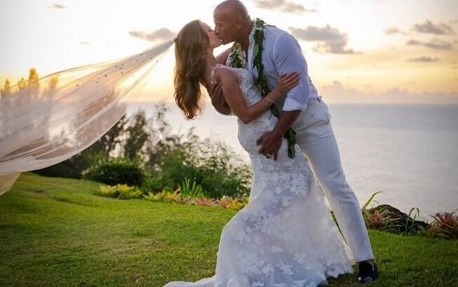 Casamento de The Rock e Lauren Hashian