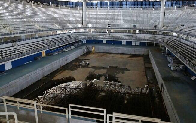 Arena do Rio 2016, totalmente abandonada