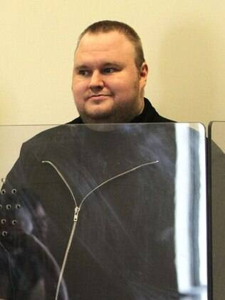 Kim DotCom, fundador do Megaupload